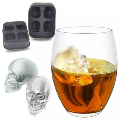 3D Skull Ice Mould