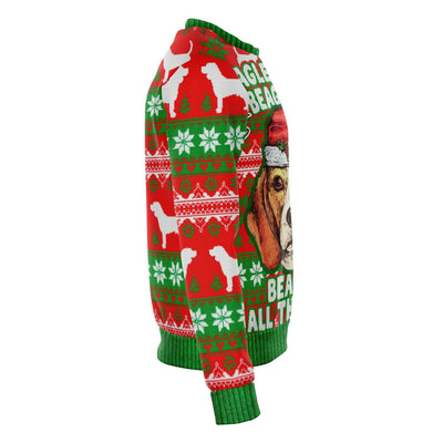 Beagle Bells - Fashion Sweatshirt AOP