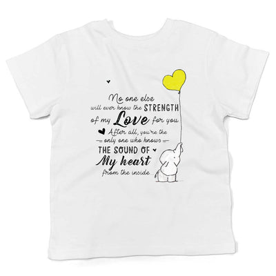 STRENGTH OF MY LOVE! PERSONALIZED CHILDREN TEE