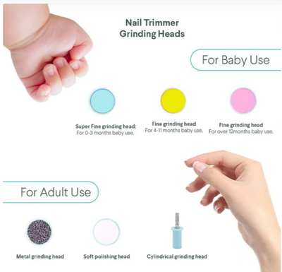SoulTrim™ - Pain Free   Automatic  Baby Nail Trimmer