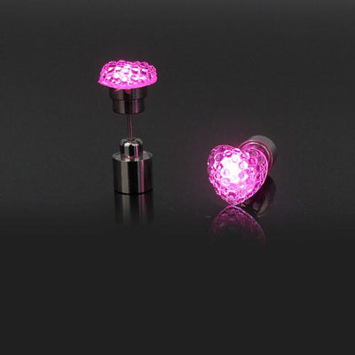 LED Gemstone Earrings