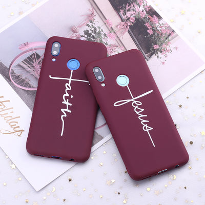 Faith & Jesus Soft Silicone Phone Cases - Samsung