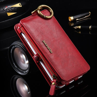 FLOVEME LEATHER FOLIO PHONE WALLET FOR SAMSUNG GALAXY.