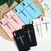 Faith & Jesus Soft Silicone Phone Cases - iPhone