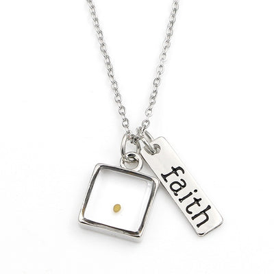 Real Mustard Seed Faith Necklace - PROMO OFFER