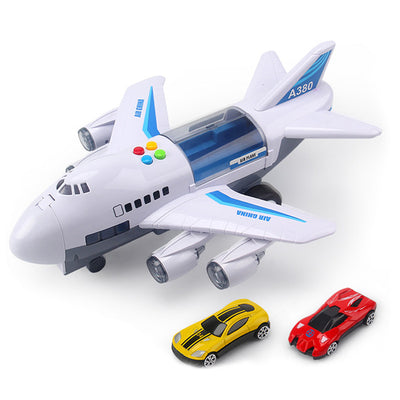 HovaTech™ - Cargo Toy Airliner (With Music Story & Track Simulations)