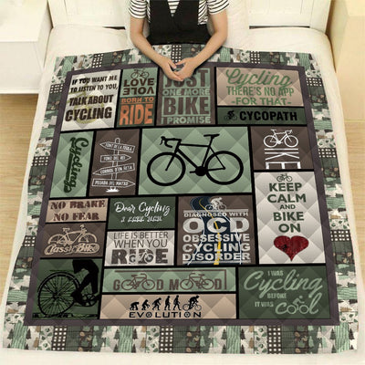 CYCLING QUILT BLANKET - VARIANT EDITION