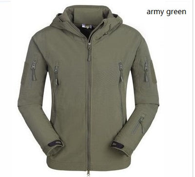 Wind & Waterproof Camouflage Tactical Jacket
