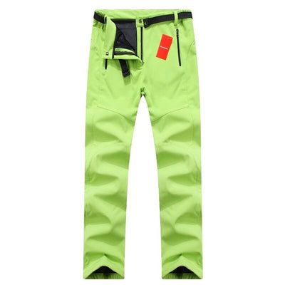 WOMEN'S WIND & WATERPROOF FLEECE PANTS