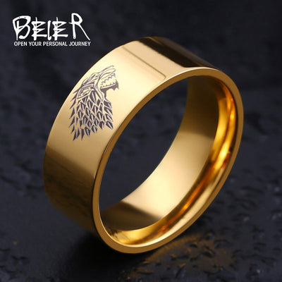 House of Starks Wolf Ring