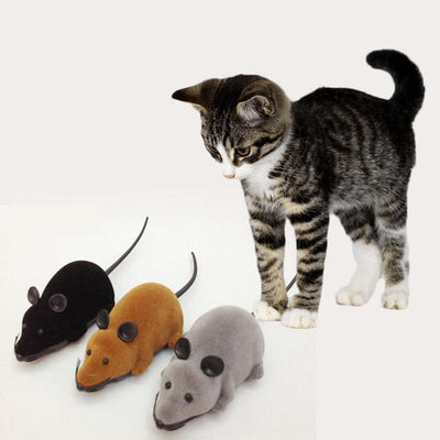 REMOTE CONTROL WIRELESS SIMULATION PLUSH MOUSE (50% OFF)
