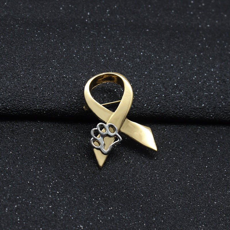 Stand Against Animal Abuse - Awareness Pin