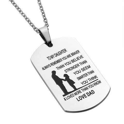 """To My Son/Daughter"" - Limited Edition Pendant"