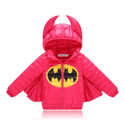 Kids Batman Wing Puffer Jacket
