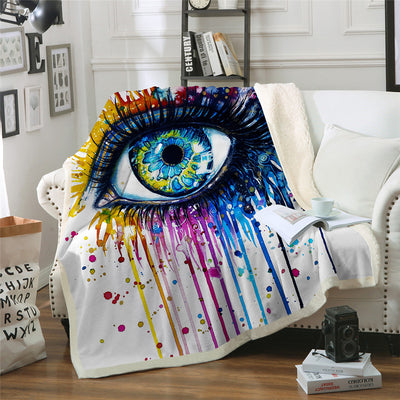 Charming Eye Throw Blanket