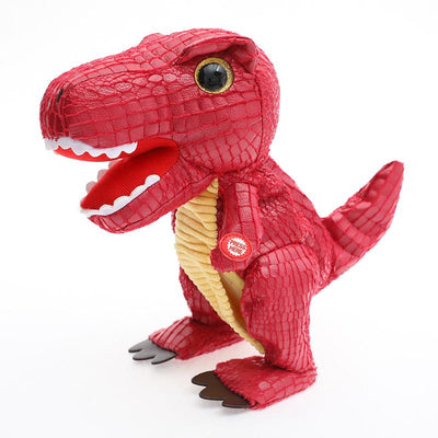 "SOULDINO® - ""Juno"" Walking & Talking Dinosaur Plush Toy"