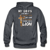 MY GOD'S IS NOT DEAD - Gildan Heavy Blend Adult Hoodie - charcoal gray