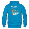 MY GOD'S IS NOT DEAD - Gildan Heavy Blend Adult Hoodie - turquoise