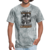 A CHILD OF GOD - UNISEX PREMIUM TEE - grey tie dye