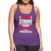 I CAN DO ALL THINGS-WOMEN'S PREMIUM TANK - purple