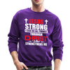 I CAN DO ALL THINGS - CREW-NECK SWEATSHIRT - purple