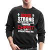 I CAN DO ALL THINGS - CREW-NECK SWEATSHIRT - black