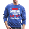 I CAN DO ALL THINGS - CREW-NECK SWEATSHIRT - royal blue