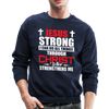 I CAN DO ALL THINGS - CREW-NECK SWEATSHIRT - navy