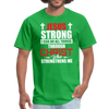 I CAN DO ALL THINGS - UNISEX PREMIUM TEE - bright green