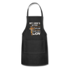 MY GOD'S IS NOT DEAD - Adjustable Apron - black