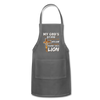 MY GOD'S IS NOT DEAD - Adjustable Apron - charcoal