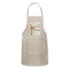 MY GOD'S IS NOT DEAD - Adjustable Apron - natural