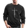 FAITH APPAREL - CREW-NECK SWEATSHIRT - black