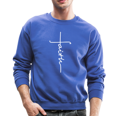 FAITH APPAREL - CREW-NECK SWEATSHIRT - royal blue