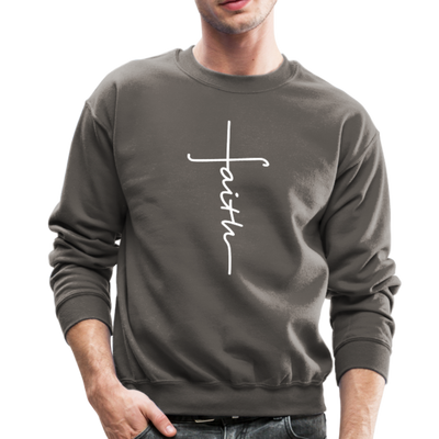 FAITH APPAREL - CREW-NECK SWEATSHIRT - asphalt gray