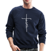 FAITH APPAREL - CREW-NECK SWEATSHIRT - navy
