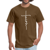 FAITH TEE - UNISEX PREMIUM TEE - brown