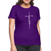FAITH APPAREL - Women's T-Shirt - purple