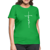 FAITH APPAREL - Women's T-Shirt - bright green