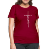 FAITH APPAREL - Women's T-Shirt - dark red