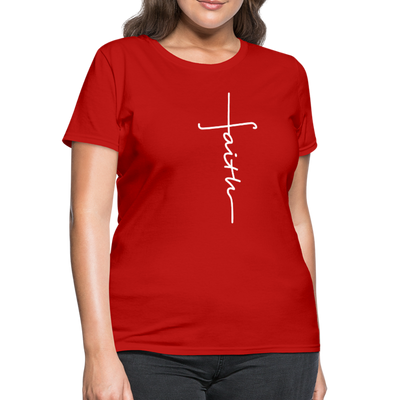 FAITH APPAREL - Women's T-Shirt - red