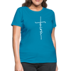 FAITH APPAREL - Women's T-Shirt - turquoise