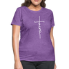 FAITH APPAREL - Women's T-Shirt - purple heather