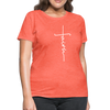 FAITH APPAREL - Women's T-Shirt - heather coral