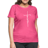 FAITH APPAREL - Women's T-Shirt - heather pink