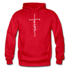 FAITH APPAREL - Heavy Blend Adult Hoodie - red