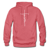 FAITH APPAREL - Heavy Blend Adult Hoodie - heather red