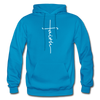 FAITH APPAREL - Heavy Blend Adult Hoodie - turquoise