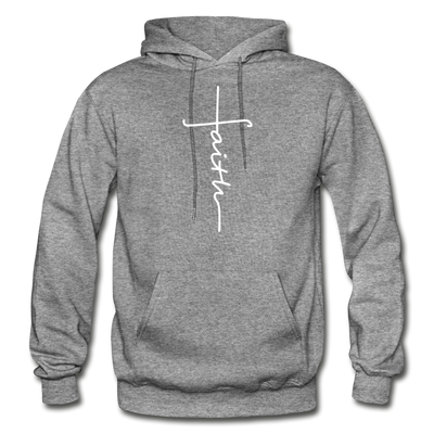 FAITH APPAREL - Heavy Blend Adult Hoodie - graphite heather