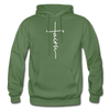 FAITH APPAREL - Heavy Blend Adult Hoodie - military green